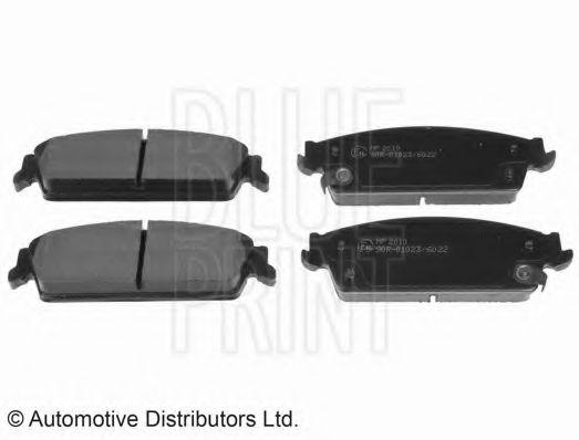 BLUE PRINT CADILLAC Тормозные колодки Cadillac Escalade 6.0-6.2 07- BLUEPRINT ADA104251