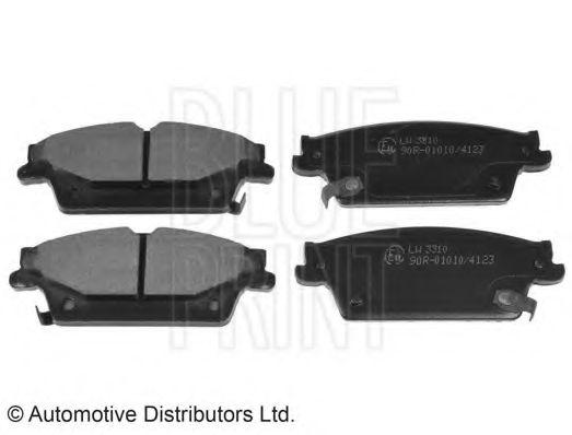 Комплект тормозных колодок, дисковый тормоз  арт. ADA104252