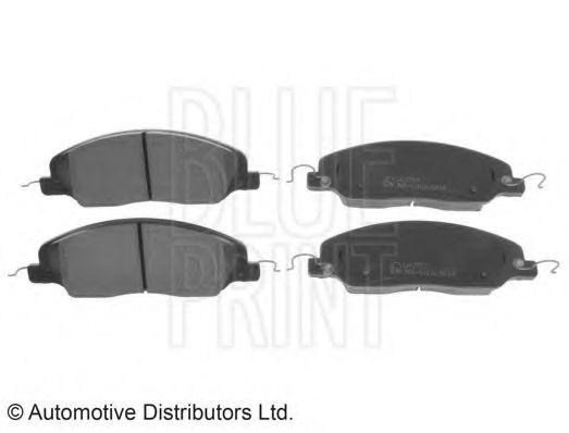 BLUE PRINT FORD Тормозные колодки передн.Mustang 05- BLUEPRINT ADA104256
