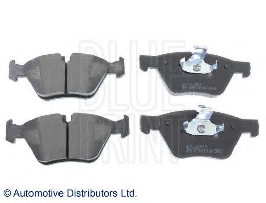 BLUE PRINT BMW Тормозные колодки передн.5 F10 10- BLUEPRINT ADB114205