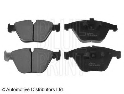 BLUE PRINT BMW Тормозные колодки передн.320-325 E90 BLUEPRINT ADB114208