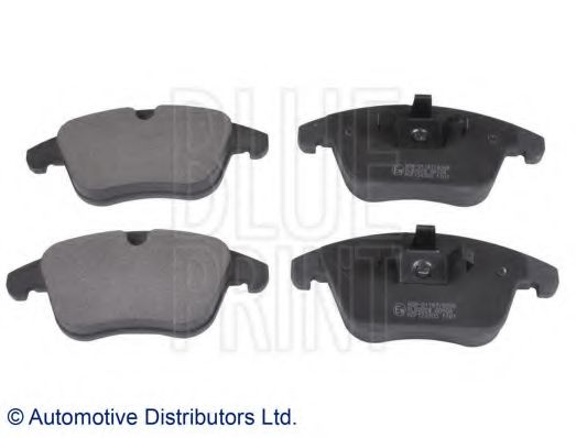 BLUE PRINT FORD Тормозные колодки передн. Mondeo 07-,S-MAX 06-,Galaxy 06-,LandRo BLUEPRINT ADF124205