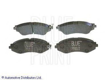 BLUE PRINT CHEVROLET Тормозные колодки передн.Lacetti, Epica 2.0 BLUEPRINT ADG04207