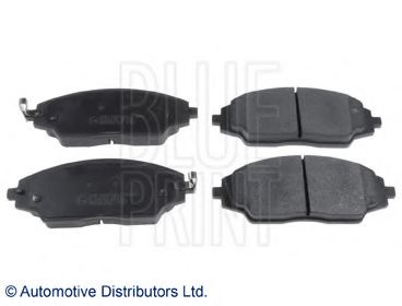 BLUE PRINT CHEVROLET Тормозные колодки передн.Aveo 11- BLUEPRINT ADG042135