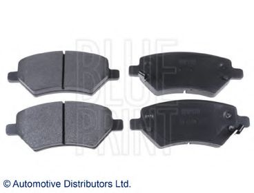Тормозные колодки дисковые  арт. ADG042148