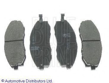 BLUE PRINT HYUNDAI Тормозные колодки передн. H-1 97- BLUEPRINT ADG04240