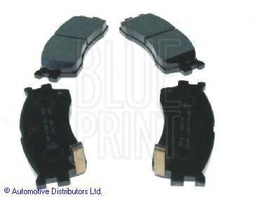 BLUE PRINT KIA Тормозные колодки передн.Carens,Clarus 1,8i 16V/2,0i 16V BLUEPRINT ADG04256