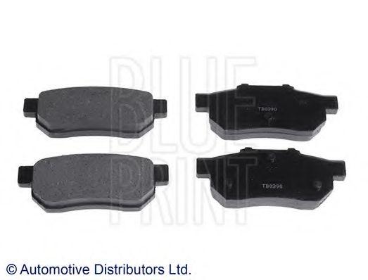 Комплект тормозных колодок, дисковый тормоз  арт. ADH24219