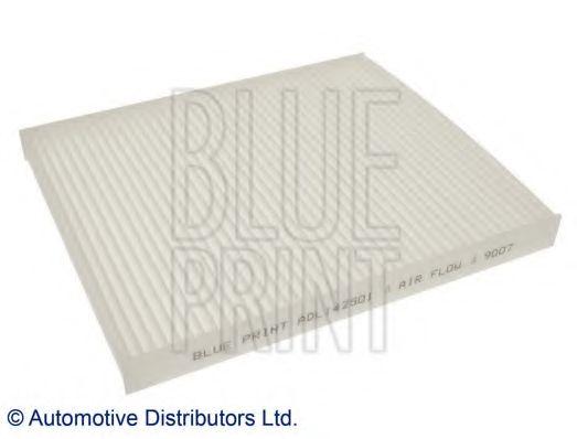 BLUE PRINT FIAT Фильтр салона Panda 03- BLUEPRINT ADL142501