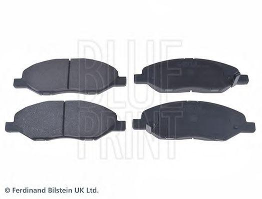 BLUE PRINT  тормозные колодки пер. NISSAN Note 03- BLUEPRINT ADN142173