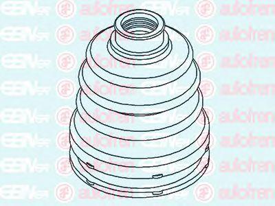 Пыльник внутреннего ШРУСа  арт. D8533
