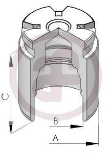 Поршень тормозного суппорта  арт. D025120
