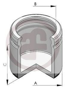 Поршенек суппорта перед Partner/Berlingo 1.6 HDi 08-/T5 03- (60x55.6)  арт. D025188