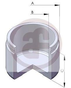 Поршень тормозного суппорта  арт. D025225