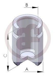 Поршень тормозного суппорта  арт. D025253