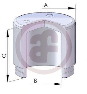Поршень тормозного суппорта  арт. D02572