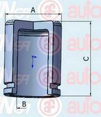Поршень тормозного суппорта  арт. D025264