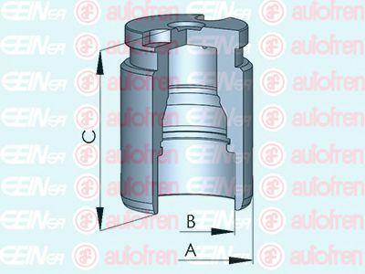 Поршенек суппорта зад Aveo/Cruze/Astra J/Insignia/Peug 308/508 38x47,45  арт. D025417