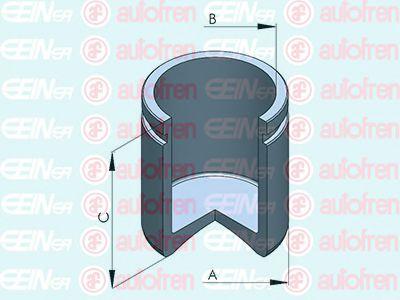 Поршенек суппорта перед Hyundai Santa Fe II/Kia Sorento II 45x49,5  арт. D025431