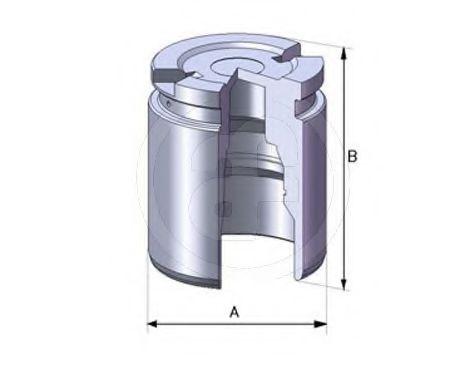 Поршень тормозного суппорта  арт. D02519
