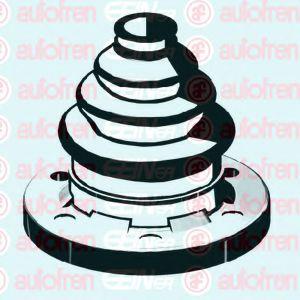 Пыльник наружного/внутреннего ШРУСа  арт. D8289