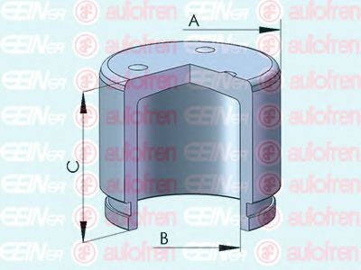 Поршень тормозного суппорта  арт. D025506