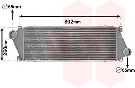 Интеркулер Интеркулер MB SPRINTER 2.9TD 95- (Van Wezel) VANWEZEL арт. 30004217