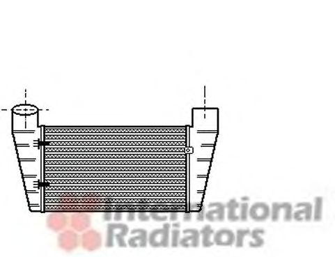 Интеркулер Интеркулер A4/A6/PASSAT5 18/19TD 94- (Van Wezel) VANWEZEL арт. 03004112