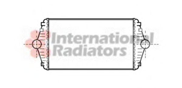 Интеркулер Интеркулер P806/EVASION/ULYSSE D 94- (Van Wezel) VANWEZEL арт. 09004086