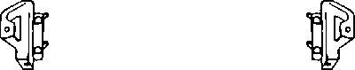 Кронштейн, буфер  арт. 1708599