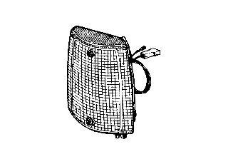 Фонарь указателя поворота  арт. 1734906