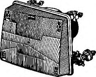 Основная фара  арт. 1734942