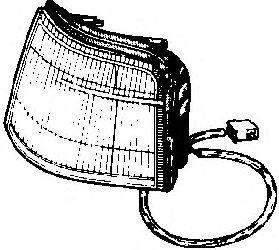 Фонарь указателя поворота  арт. 1735902