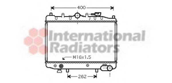 Радиатор охлаждения MAZDA 323 (пр-во Van Wezel)                                                      VANWEZEL 27002023