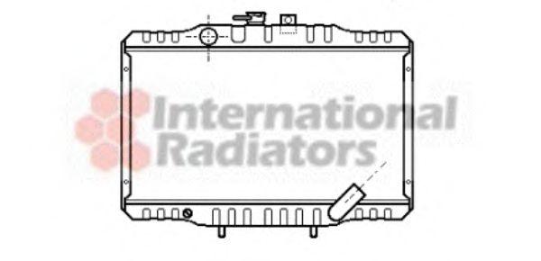 Радиатор охлаждения HYUNDAI H-1; MITSUBISHI L300 (пр-воVan Wezel)                                    VANWEZEL 32002062