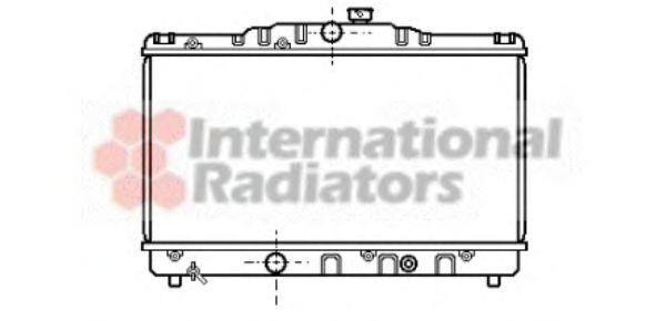 Радиатор охлаждения COROLLA EE90 1.3MT 87-92(пр-во Van Wezel)                                        VANWEZEL 53002115
