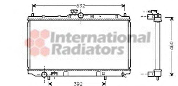 Радиатор охлаждения CARISMA 16/18 MT +-AC 97-(пр-во Van Wezel)                                       VANWEZEL 32002142