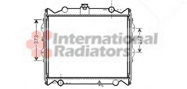 Радиатор охлаждения LANDCRUISER ALL MT 96-00 2.7 i (пр-во Van Wezel)                                 VANWEZEL 53002310