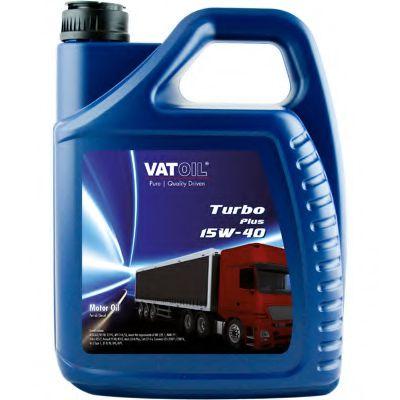 Масло моторное VATOIL Turbo Plus 15W-40 5L (ACEA A3/B4/E2, MB 228.1, Volvo VDS, MAN 271) VATOIL 50056