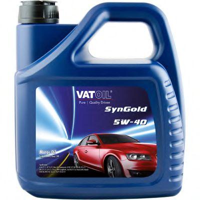 Масло моторное Vatoil SynGold 5W40 / 4л. / (ACEA C3-12, API SN/CF) VATOIL 50011