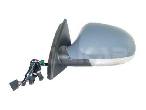 Зеркало прав., электрорегулировка с поворотником, с подогревом, грунт., выпуклое ALKAR 6132118