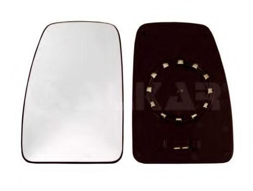 Вкладыш зеркала левый,выпуклый NS[OE 9636600QAF ] ALKAR 6401905