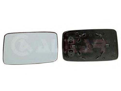 Стекло зеркала прав. с пласт. держат., выпуклое ALKAR 6402125