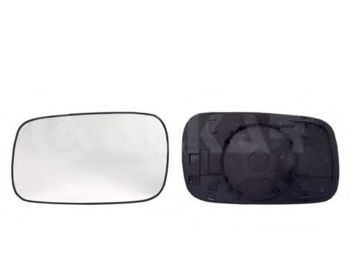 Стекло зеркала прав. с пласт. держат., выпуклое  ALKAR 6402154