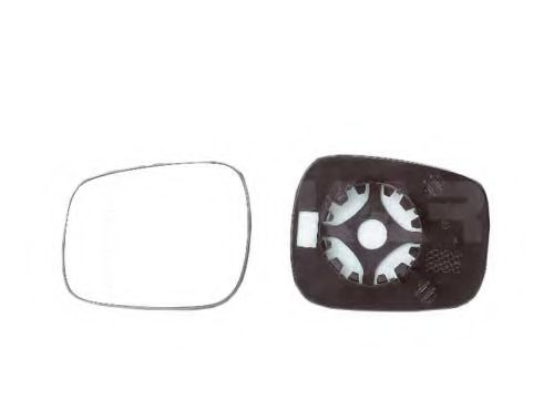 Стекло зеркала лев=правое с пластм.держателем, выпуклое ALKAR 6403174