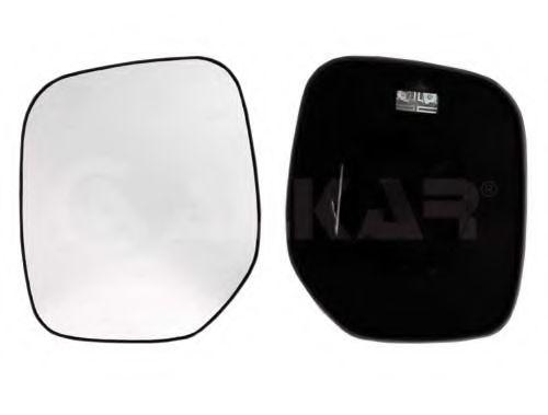 Стекло зеркала лев. с пласт. держателем, электр., с подогревом.выпуклое ALKAR 6425974