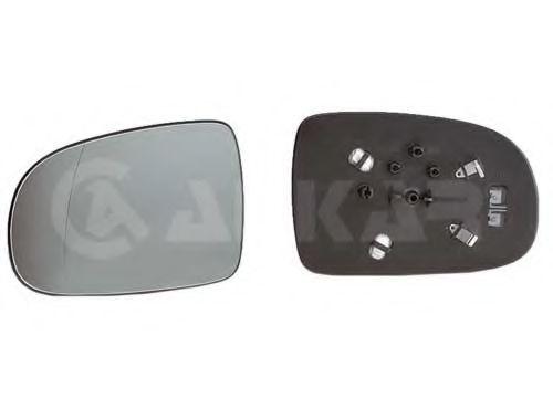 Стекло зеркала прав. с пласт. держателем, с подогревом ALKAR 6426420
