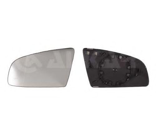 Стекло зеркала прав. с пласт. держателем, с обогревом ALKAR 6426503