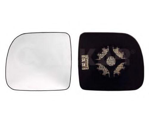 Стекло зеркала лев. с пластик. креплением подогрев., выпуклое -4/03 ALKAR 6431156