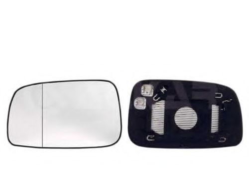 Вкладыш зеркала левый,выпуклый,обогрев., TY[OE 8790902360 ] ALKAR 6431265